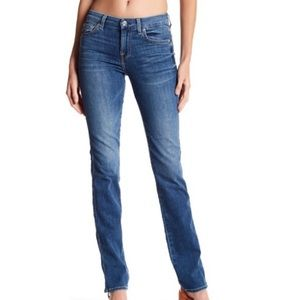 7 For All Mankind Karah Straight Jean